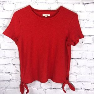 Madewell Burnt Orange Top NWOT
